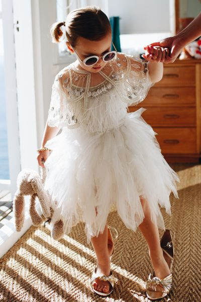 Tutu du Monde Swan Queen Tutu Dress. Flower girl dress.