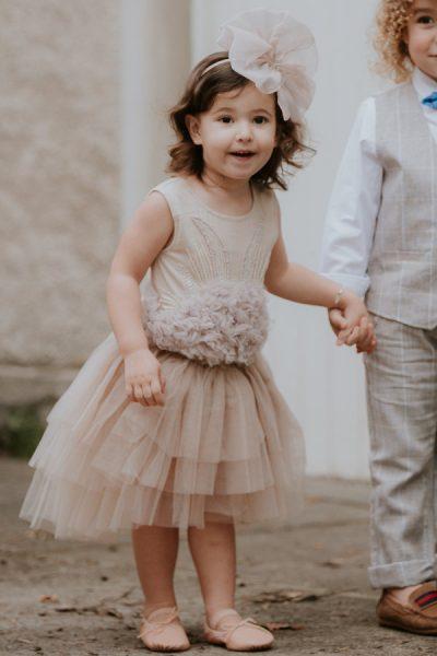 Tutu du Monde flower girl dress. Girls party dress.