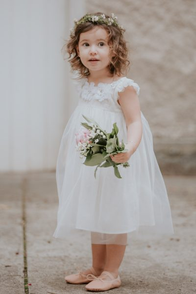 Tutu du Monde flower girl dress. Girls party dress.