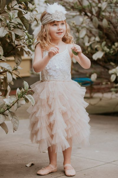 Tutu du Monde Silent Music Tutu Dress. Flower girl dress. Girls party dress.